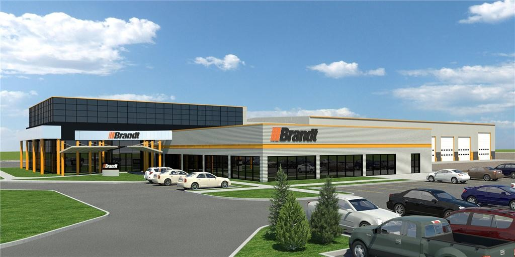 Brandt's high-performance new Saskatoon branch located at 800-60th Street West.
