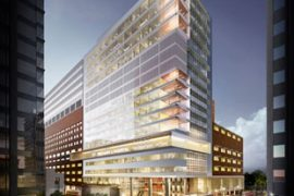 Rendering of the new St. Michael's Hospital tower in Toronto