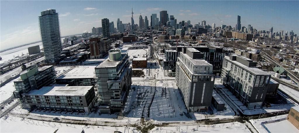 Pan Am Games athletes' village in Toronto (Photo courtesy of Infrastructure Ontario)