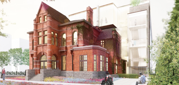 Bird Construction will build a 58,000 square-foot addition attached to the heritage building that is currently home to Casey House in Toronto.