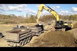 Video tips to optimize excavator loading