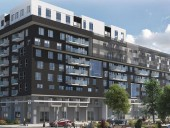 Rosemont-les-Quartiers is one of the flagship projects in Rseau Slection's expansion program. This multipurpose complex is being built on the close to 500,000-sq-ft revitalized site of the former Norampac plant in the borough of Rosemont-la-Petite-Patrie.