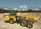 Komatsu HM400-5 articulated dump