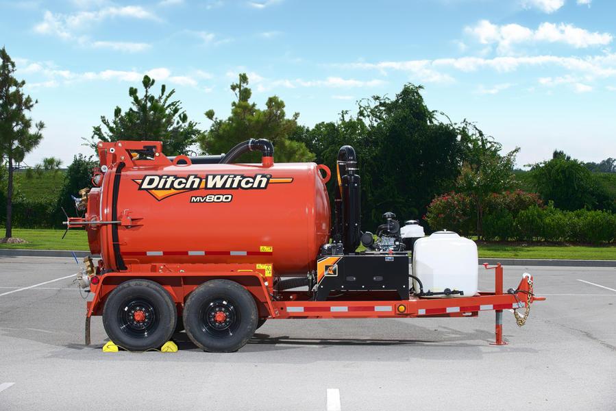 Ditch Witch MV800 mud vacuum