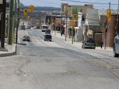 Algonquin Boulevard east and west in Timmins, ON have been named two of the province's worst roads in the annual survey conducted by the Ontario Road Builders' Association