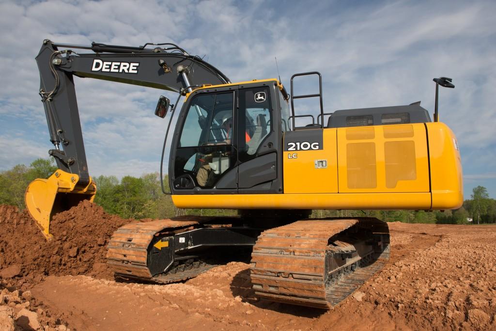 John Deere 210G LC Excavator upgrades