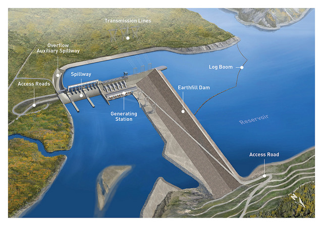 BC government workers are opposing the construction of BC Hydro's $8.3B Site C dam project