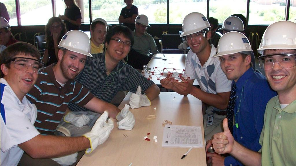 Construction interns, like these from Burns McDonnell in Calgary, are eligible for $22,000 in scholarships in a new program from software developer HCSS.