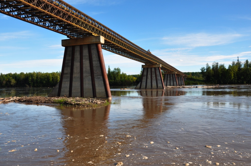 One of the longest Acrow design bridges in North America is going to be replaced this year. The project is part of upgrades to Highway 77 in northern British Columbia