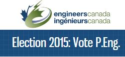 Engineers Canada launch federal election website