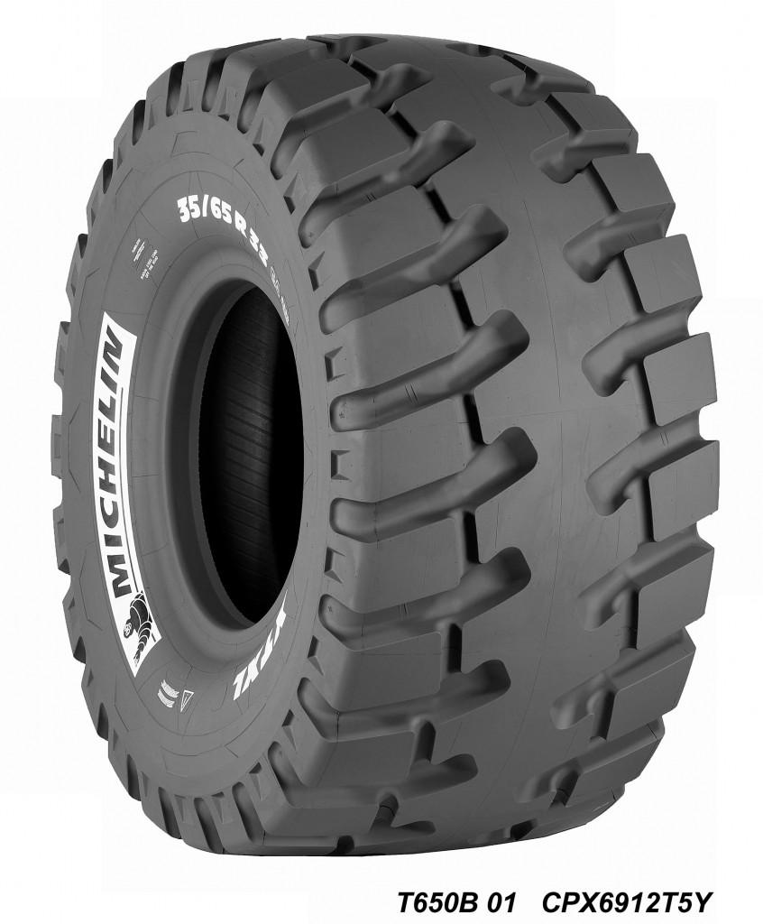 Michelin XTXL loader tire