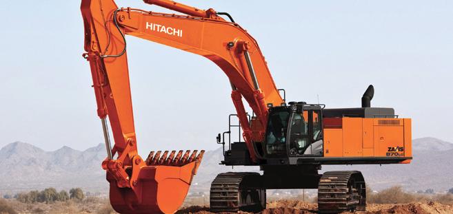 Hitachi ZX870LC-5 excavator