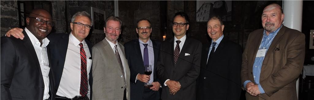 More than 90 industry leaders gathered earlier this month to celebrate the 10 Anniversary of the Residential and Civil Construction Alliance of Ontario. Among those in attendance included Jason Ottey (LiUNA Local 183); Richard Lyall (Joint Residential Construction Association); Mike Yorke (Carpenters Union); RCCAO executive director Andy Manahan; Toronto Deputy Mayor Denzil Minnan-Wong; RCCAO chairman Phil Rubinoff and Eric Lewis (Heavy Construction Association of Toronto)