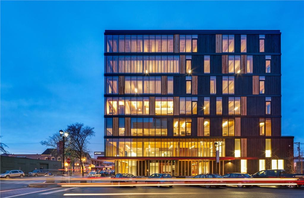 In the Manufacturer and Supplier category, Structurlam Products LP was recognized for their contribution to Wood Innovation and Design Centre