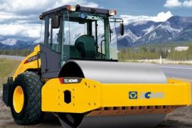 XCMG construction equipment is shipping 14 eight-tonne road rollers to the United States this fall