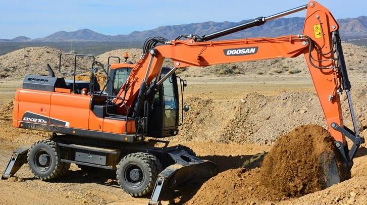 Doosan DX210W-5 Wheel Excavator