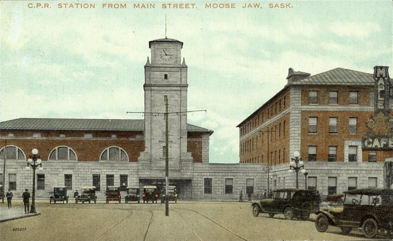 P. W. Graham & Sons got their start building railway stations for the Canadian Pacific Railway, like this one, in  Moose Jaw, SK.. The firm, now known as Graham Construction, was just inducted into the Saskatchewan Business Hall of Fame.
