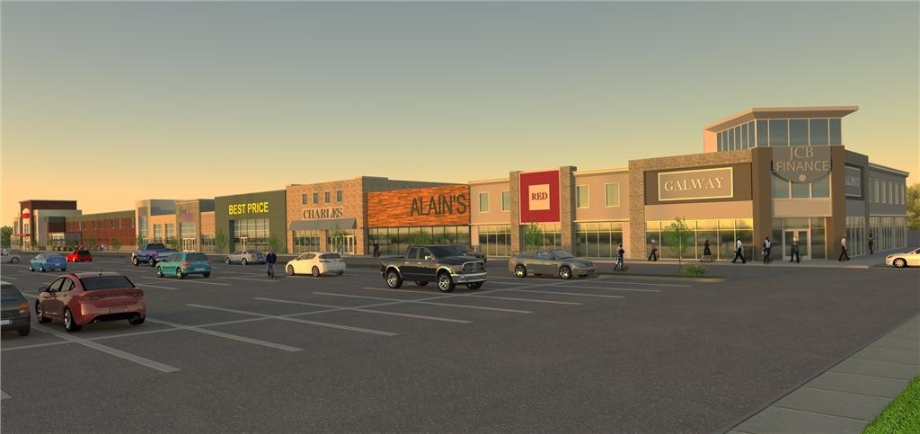 Artist's rendering of the new Shoppes at Galway. Construction to start mid-2016