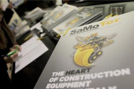 Global heavy equipment purchases and construction volumes rising according to the SaMoTer outlook report