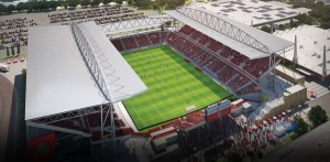 PCL is in the middle of Phase 2 renovations of BMO Field adding a canopy to open-air stadium
