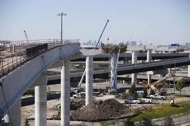 UP Express construction