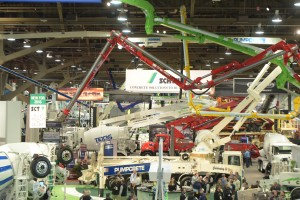 World of Concrete 2016 - Central Hall.