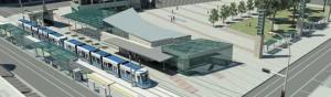 Valley Line LRT Edmonton Station exterior 2