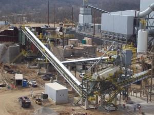 Cement production plant