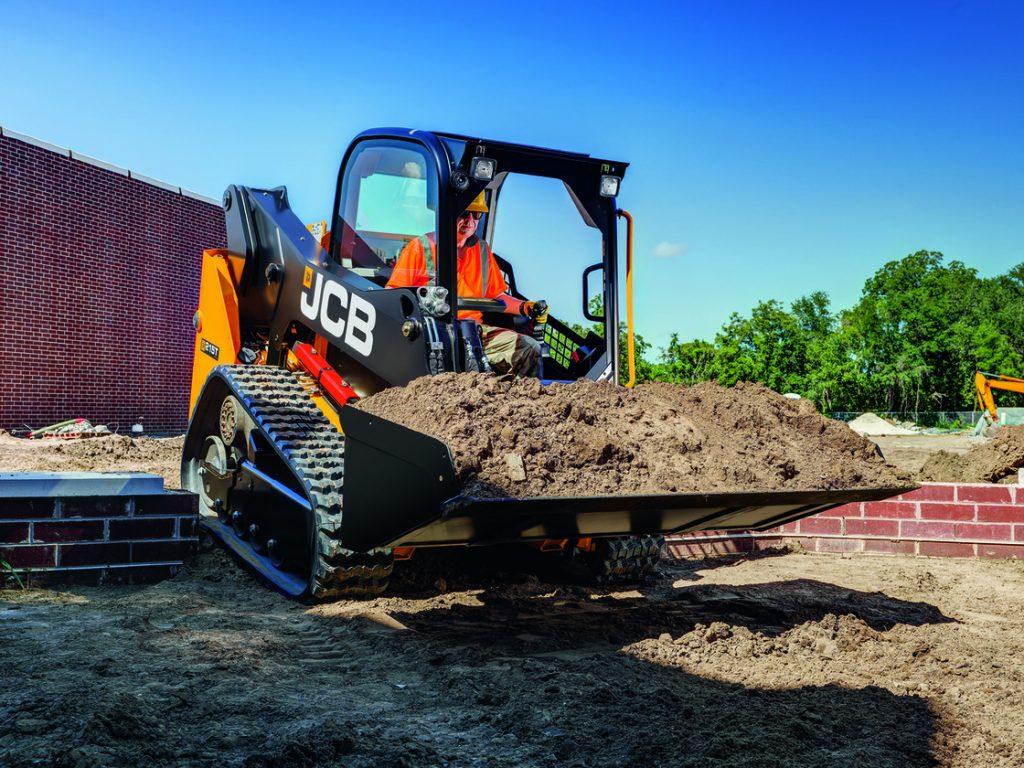 JCP compact track loader, loader, JCB, compact