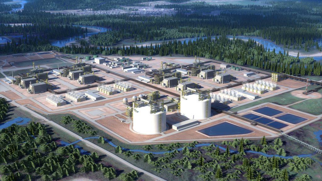 LNG Canada BC facility