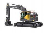 Volvo e-series excavator crawler
