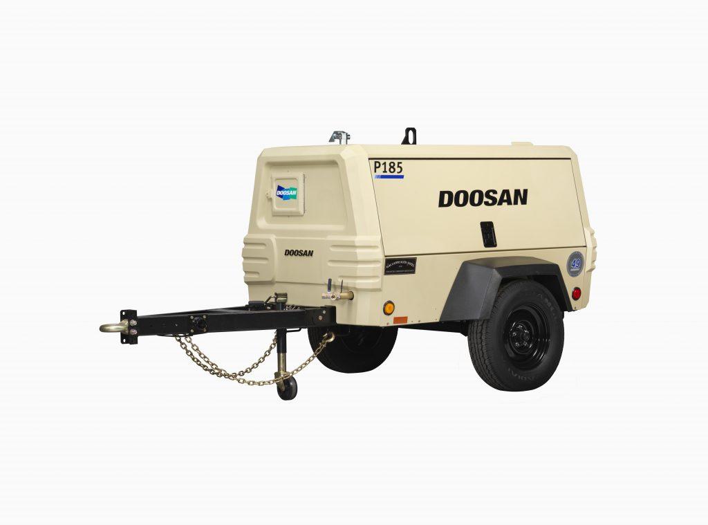 Doosan P185 Air compressor