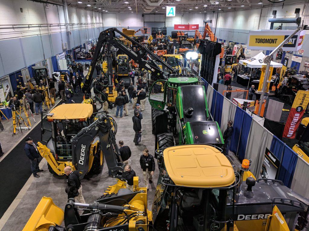 Atlantic heavy equipment show 2018
