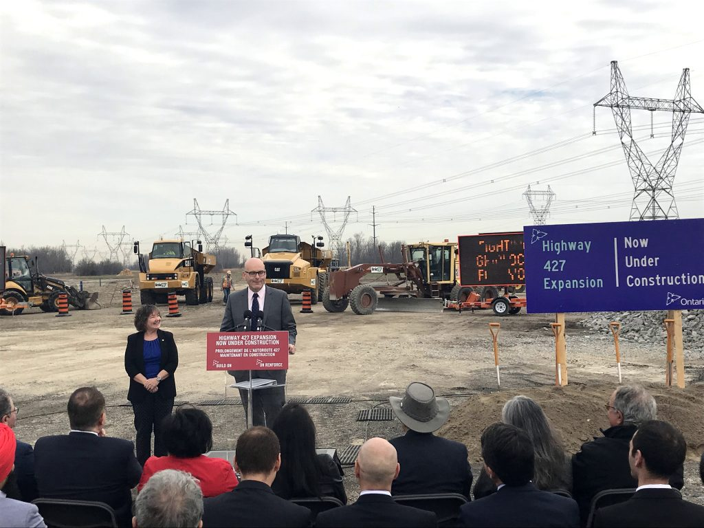 construction starts on Highway 527 expansion project
