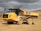 CAT articulated trucks