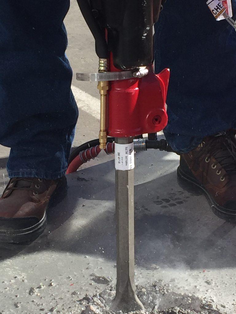 Silicia Dust suppression kit