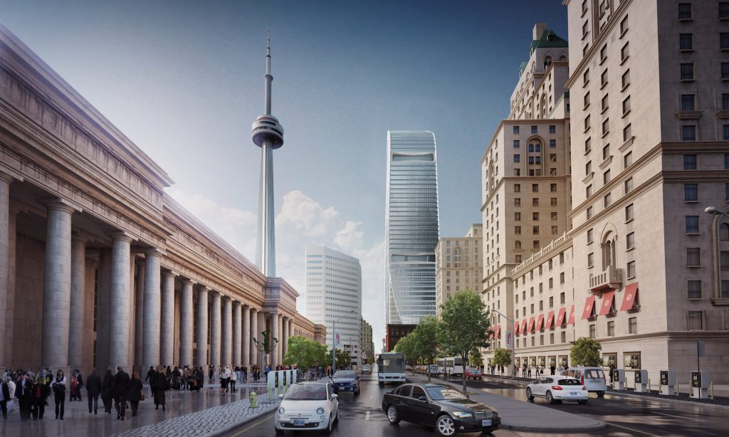 Cadillac fairview front street office tower