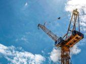 Montreal construction crane