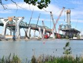 """Transportation, """" An End of May, Early June 2018 Update, for the New Champlain Bridge""""."""