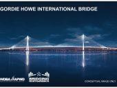 Gordie Howe International Bridge – Night View