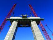 SITE Steel – Champlain Bridge – Installation Lower Cross-Beam – 14 Oct 2016 SSL-11