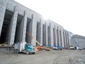 keeyask tailrace concrete telehandlers