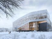 centennial-college-progress-campus-a-block-winter-exterior