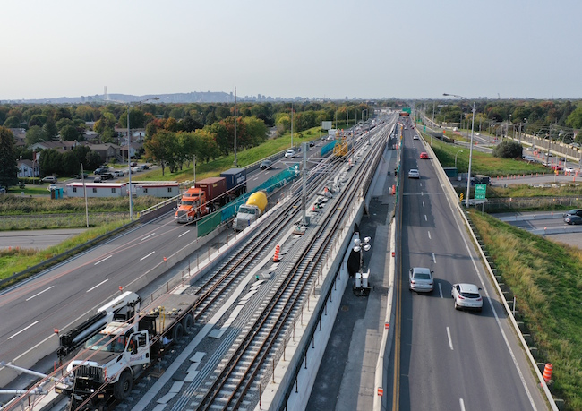 rem rail line construction