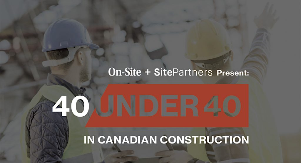 Nominations open for 2nd annual Top 40 Under 40 in Canadian Construction
