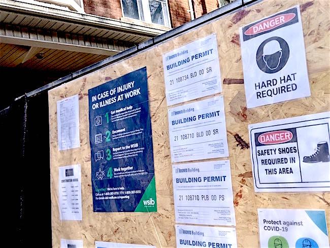 building permits toronto