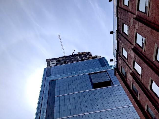 crane construcition building